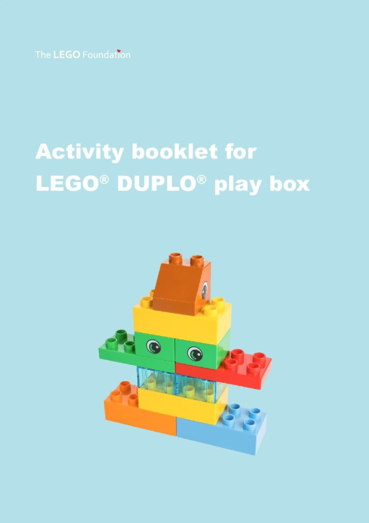 Activity book for Lego DUPLO