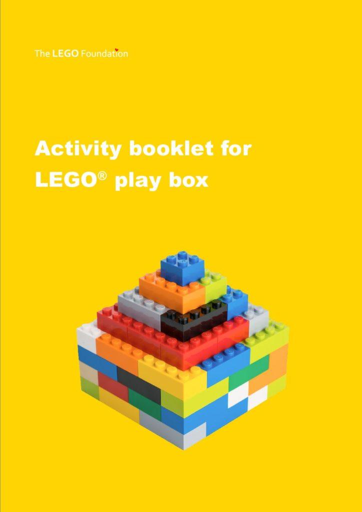 LEGO Play box activity booklet