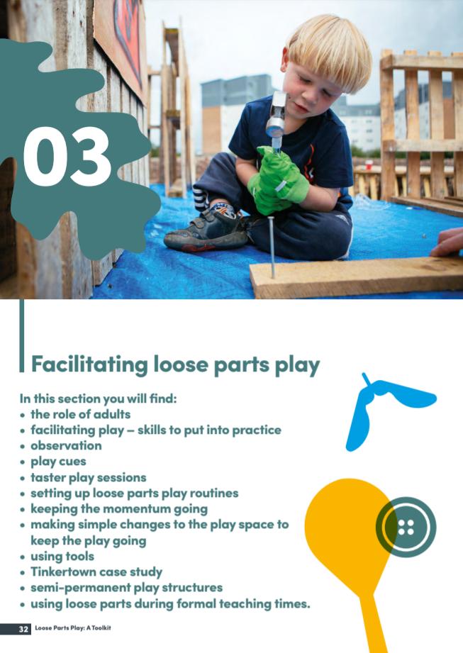 Facilitating loose parts play