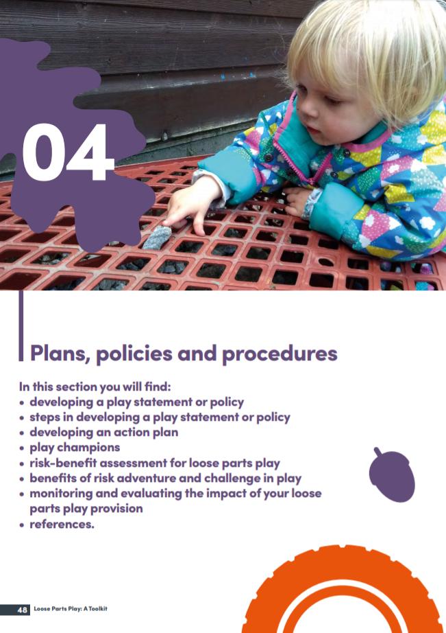 Plans, policies and procedures
