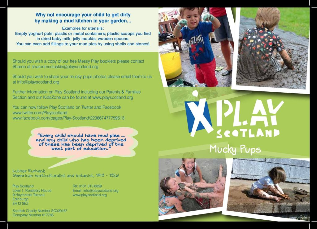 Mucky Pups Leaflet