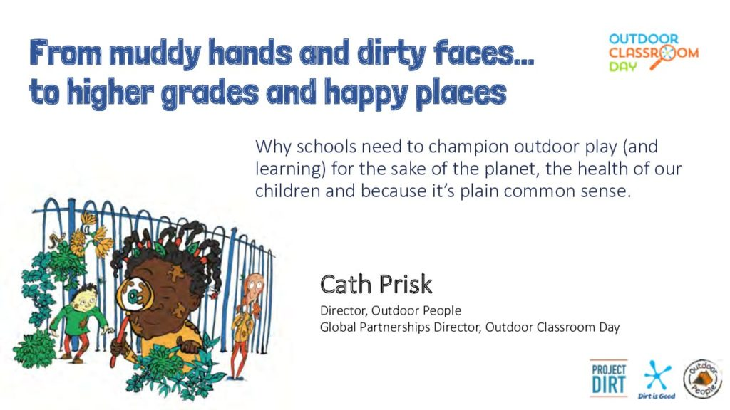 From muddy hands and dirty faces….to higher grades and happy places