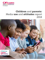 Children and parents: media use and attitudes report