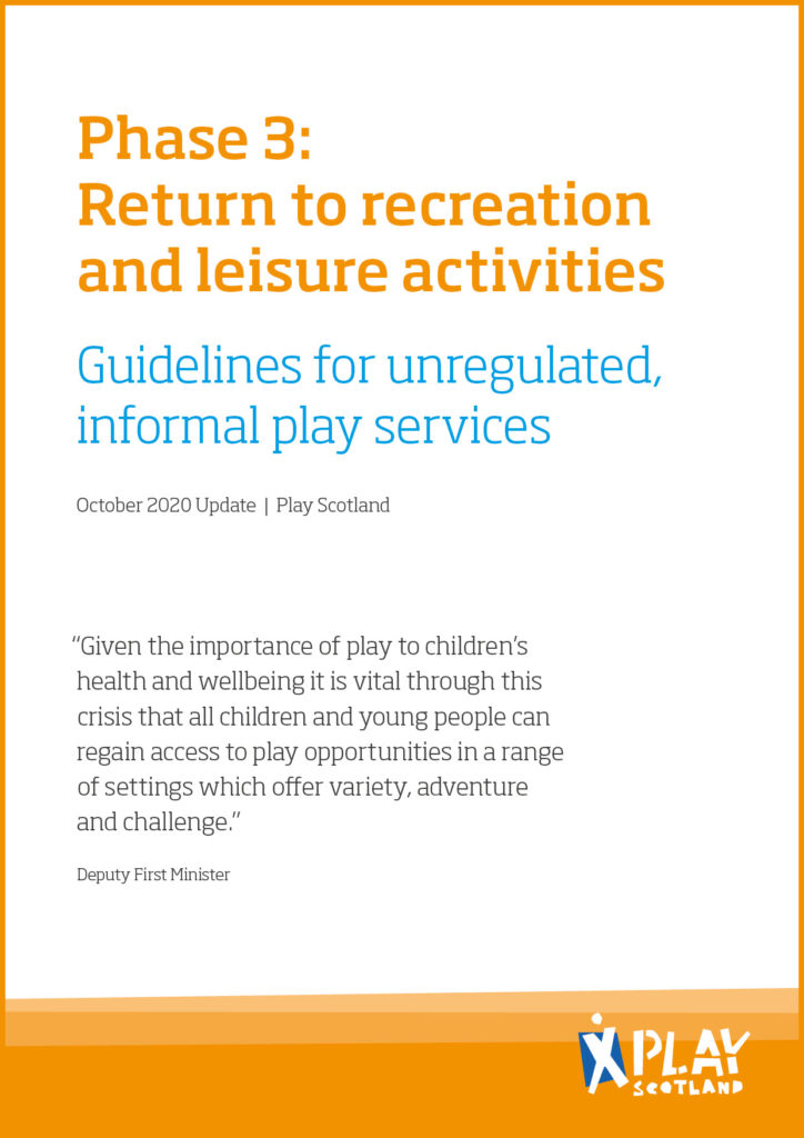 Play Scotland Guidelines for Services