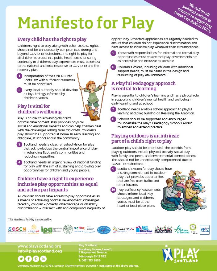 Manifesto for Play