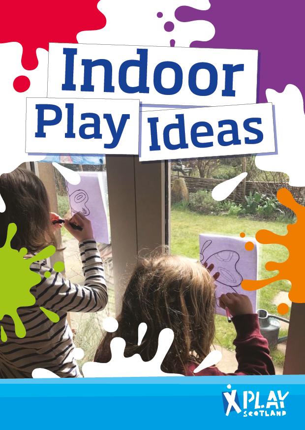 Indoor play booklet