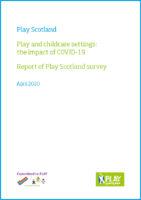 Play Scotland Survey Report 2020