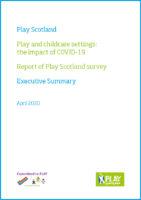 Play Scotland Survey Report Executive Summary 2020