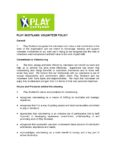 Play Scotland Volunteer Policy