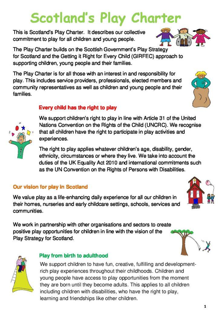 Scotland's Play Charter