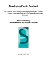 Developing Play In Scotland