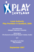 Local Authority Play Provision in Scotland, 2006