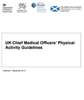 UK Chief Medical Officers' Physical Activity Guideline