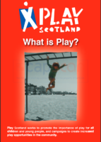 Play Scotland information leaflets