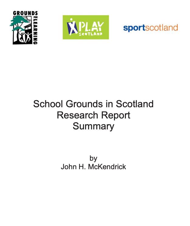 Scottish School Grounds Survey summary report