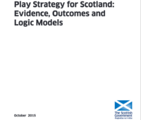 Evidence, Outcomes and Logic Models, 2015