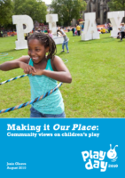 Making it our Place – communities talk about play