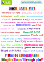 Loose Parts Play – poster