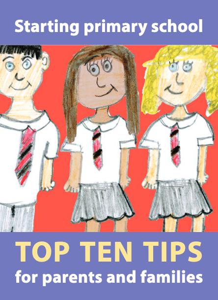 Top Ten Tips for Starting Primary School