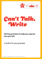 Can't talk, write: a toolkit for young people
