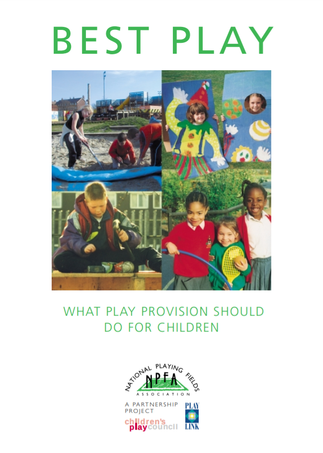 Best play: what play provision should do for children