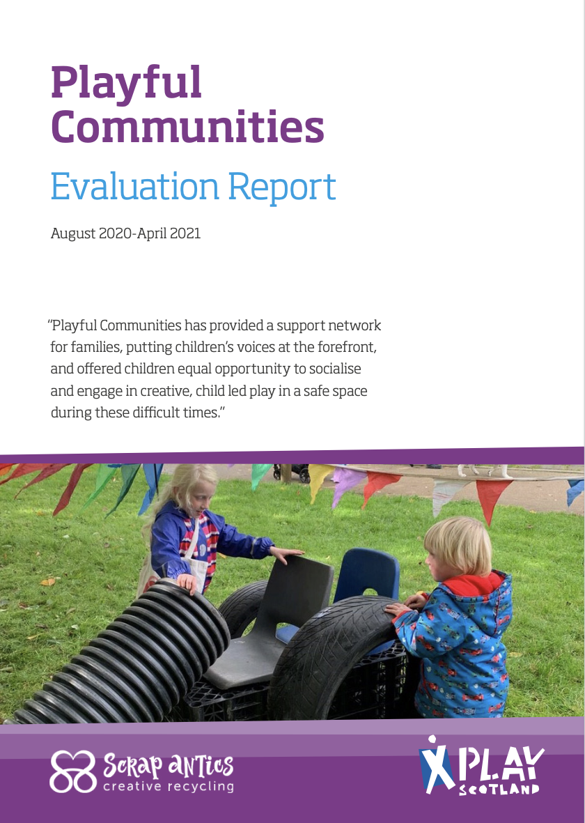 Playful Communities: Evaluation Report