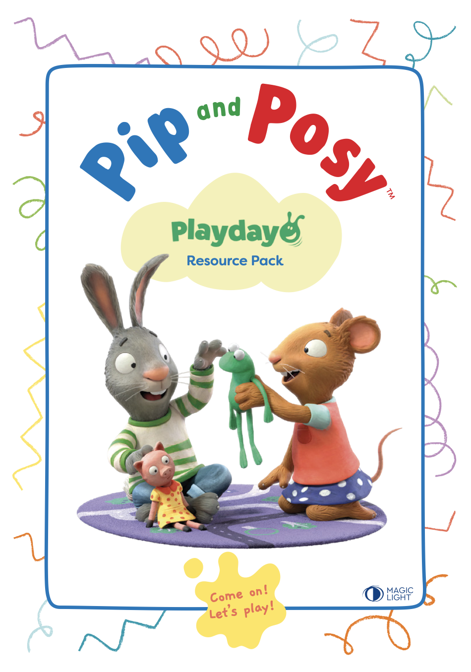 Pip and Posy Playday Resource Pack