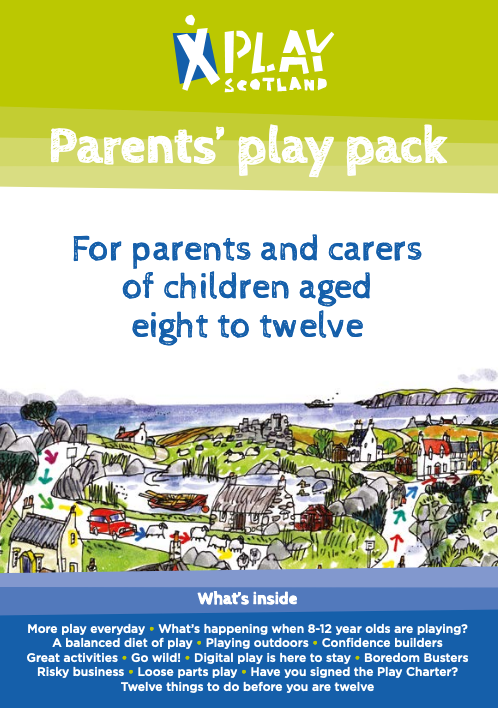 Play Scotland Parents' Play Pack