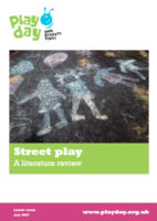 Street play – Literature review