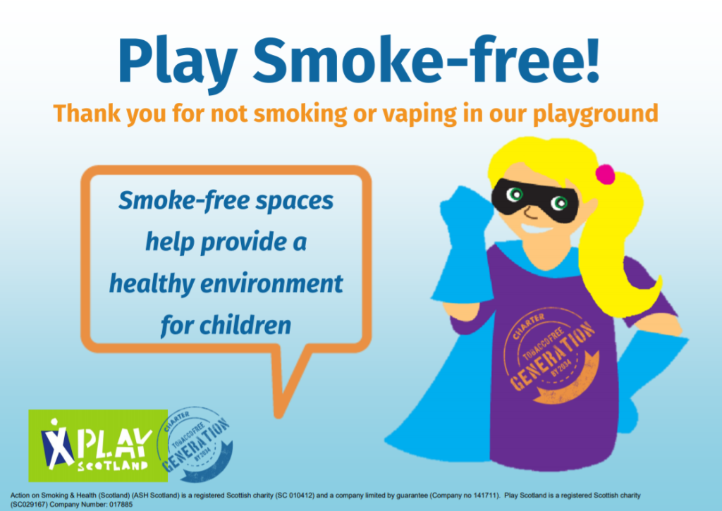 Play smoke-free – hero girl