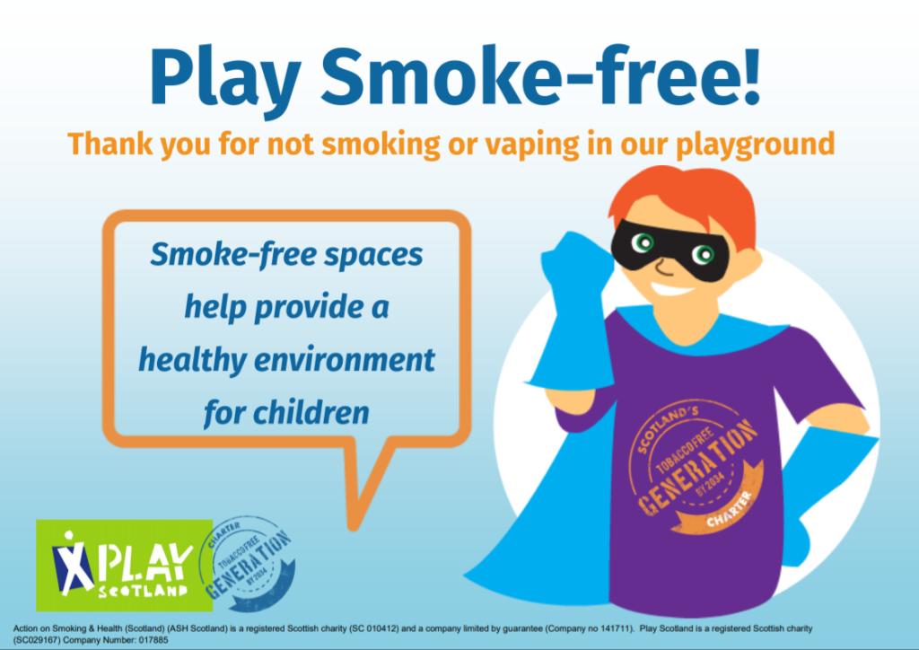 Play smoke-free – hero boy